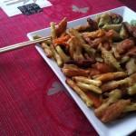 Verduras en tempura de Miriam, de Las Palmas